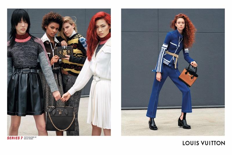 Bruce Weber photographs Louis Vuitton's fall-winter 2017 campaign