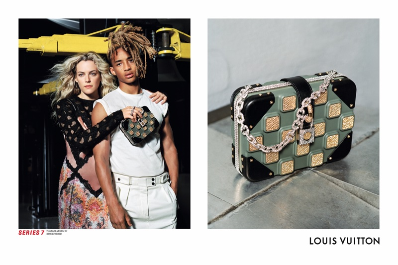 Riley Keough and Jaden Smith front Louis Vuitton's fall-winter 2017 campaign