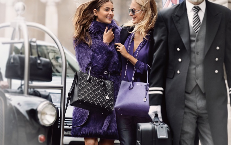 Taylor Hill and Romee Strijd star in MICHAEL Michael Kors' fall-winter 2017 campaign