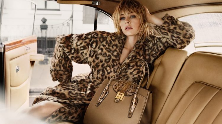 Edie Campbell Looks Effortlessly Chic in Michael Kors' Fall 2017 Campaign