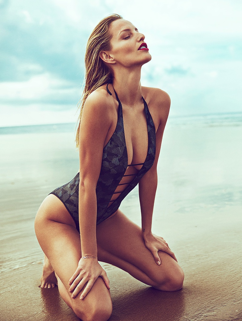 Michaela Kocianova Heats Up the Beach in Woman Spain