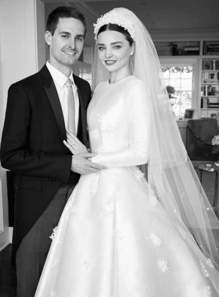 Miranda Kerr's Dior Wedding Dress is an Absolute Dream – See the Vogue Photos!