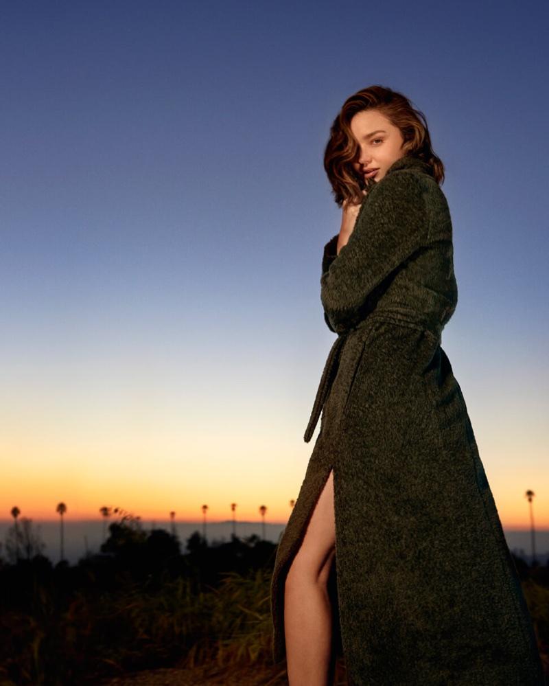 An image from Marella's fall-winter 2017 campaign starring Miranda Kerr