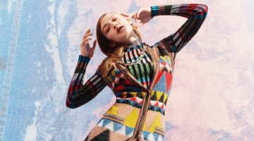 Gigi Hadid is a Natural Beauty in Missoni's Fall 2017 Campaign
