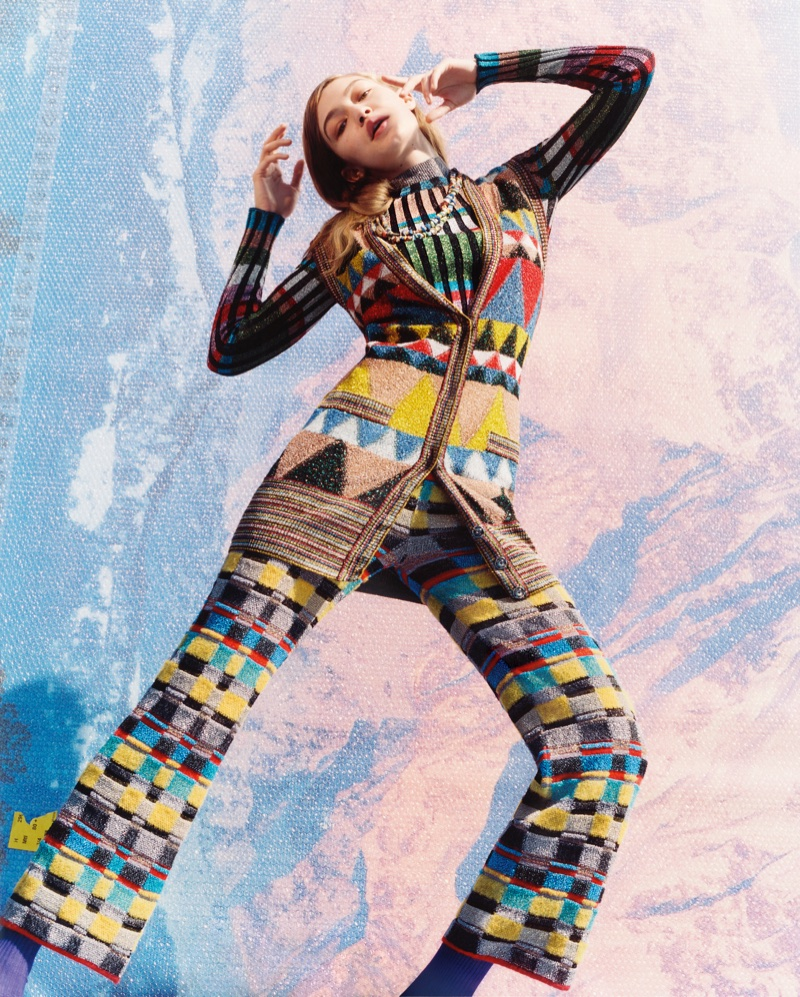 Gigi Hadid stars in Missoni's fall-winter 2017 campaign