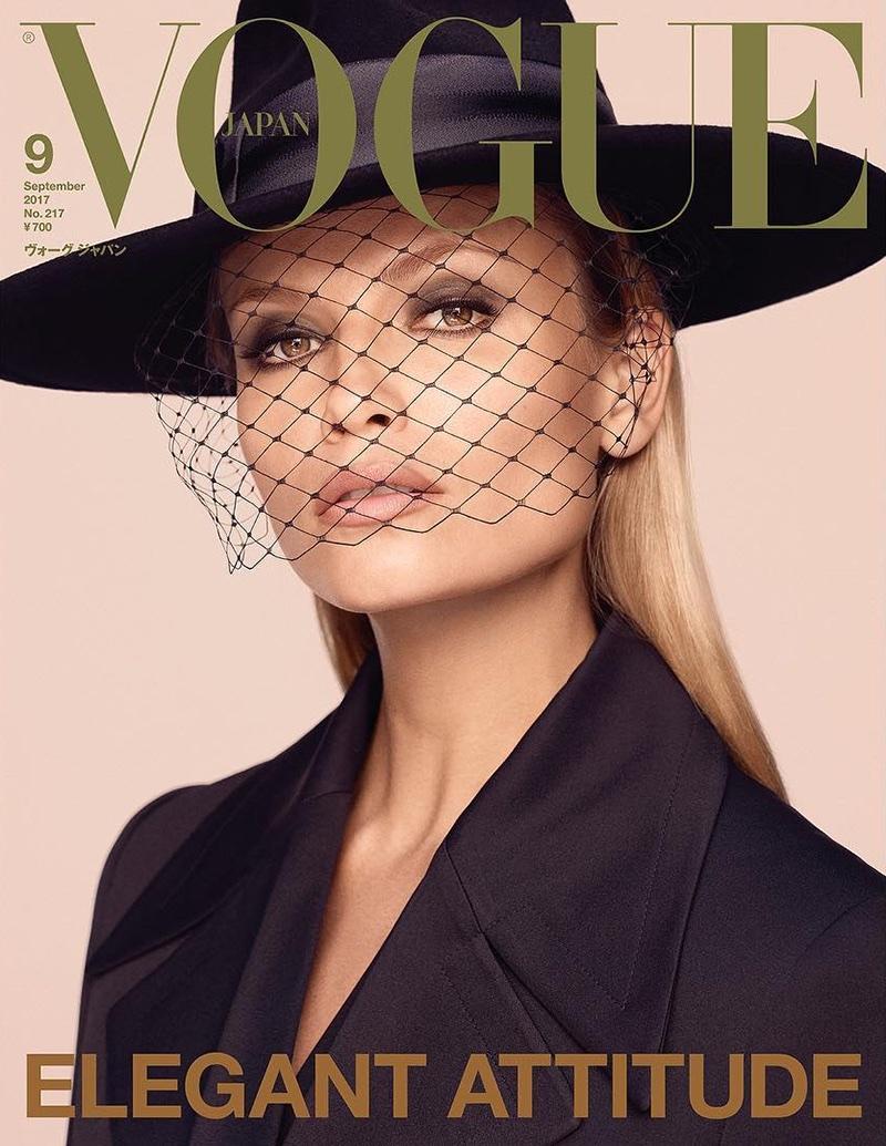 Natasha Poly on Vogue Japan September 2017 Cover