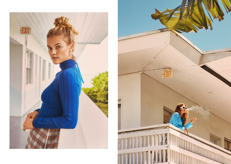 Nina Agdal Embraces Summer Style for Eurowoman Cover Story