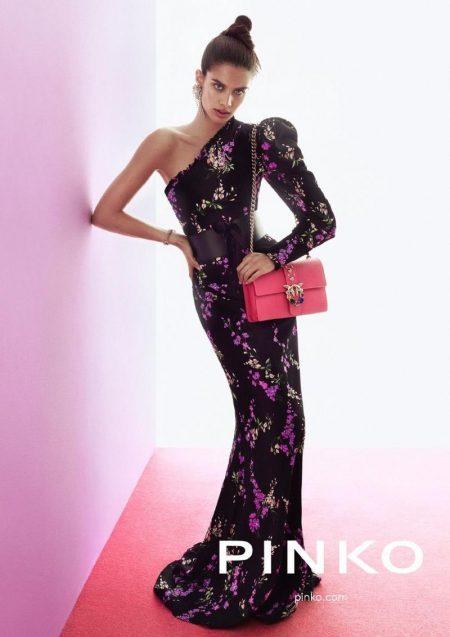 Sara Sampaio is Fashion Forward in Pinko's Fall 2017 Campaign