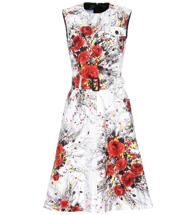 Prada Printed Denim Dress $1,770