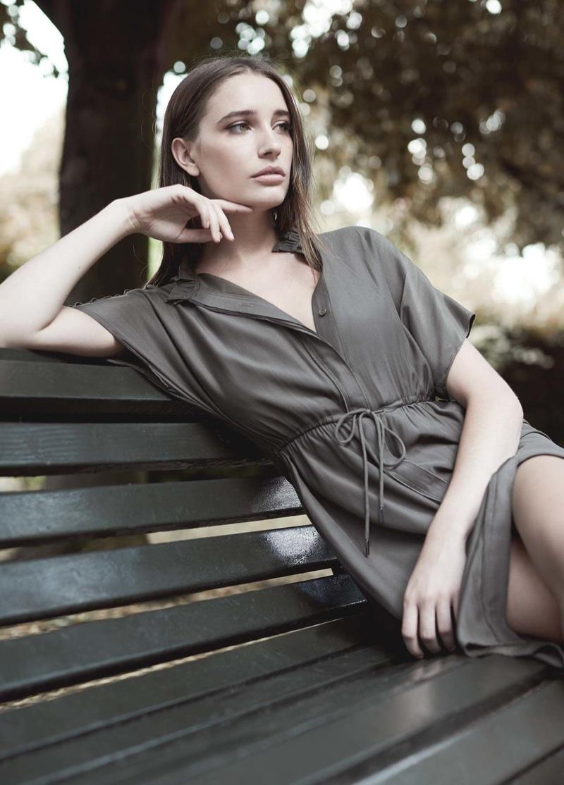 REISS Isabeli Short Sleeved Dress $345