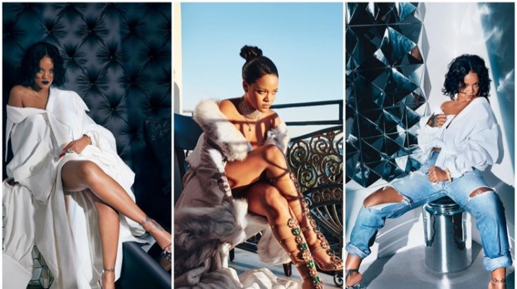 Rihanna x Manolo Blahnik 2017 shoe collaboration