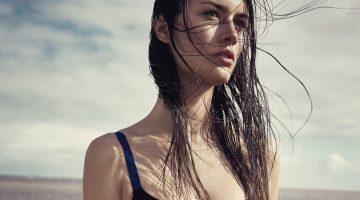 Ronja Furrer is a Beach Bombshell for Harper's Bazaar Czech