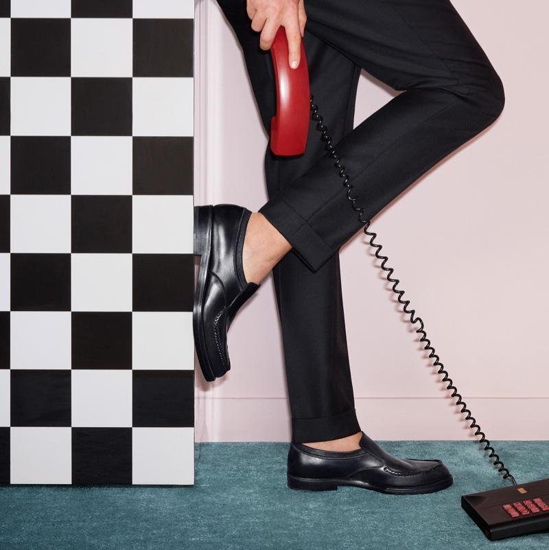 Menswear style takes the spotlight in Salvatore Ferragamo's fall-winter 2017 campaign
