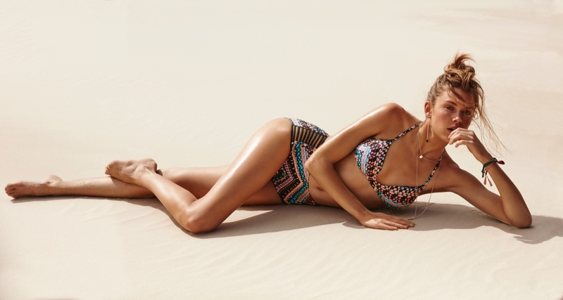 An image from Seafolly's fall 2017 advertising campaign