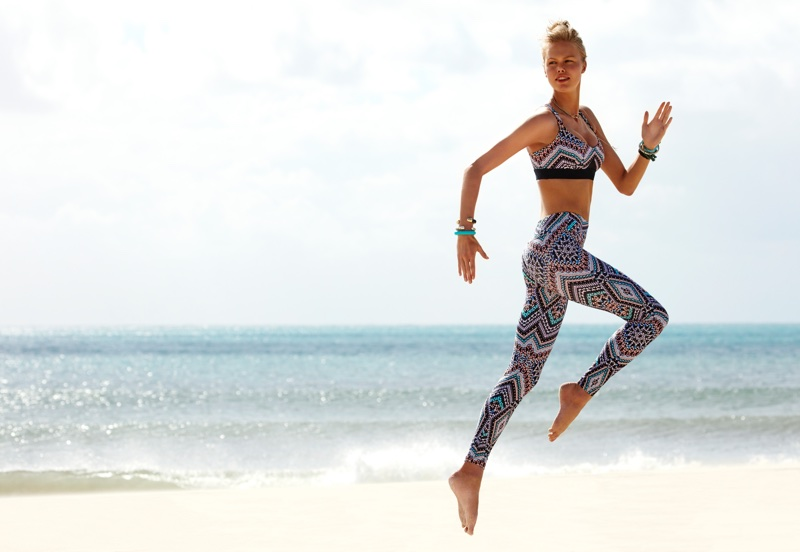 Emma Stern Nielsen strikes a pose in Seafolly's fall 2017 campaign