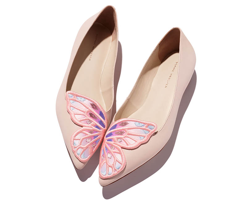 SOPHIA WEBSTER Bibi Butterfly ballerina shoes qy4PyfiB