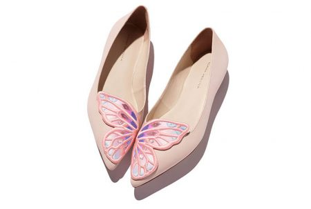 Think Pink: Sophia Webster Embraces Butterflies for New Shoe Collection