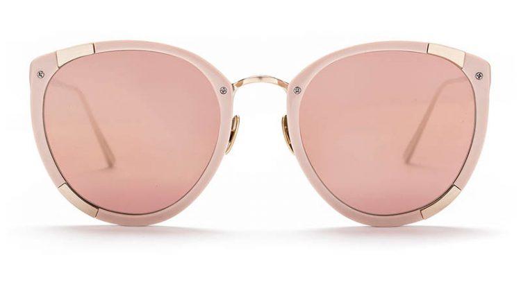 Sunday Somewhere x Rebecca Taylor Zoe Sunglasses in Blush $320
