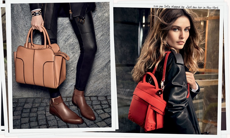 Tod's features modern handbags in fall-winter 2017 campaign