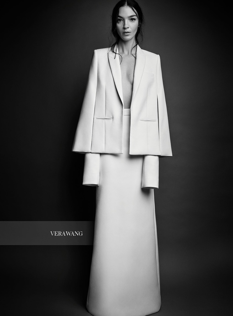 An image from Vera Wang Bridal's spring 2018 campaign