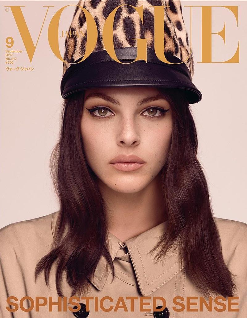 Vittoria Ceretti on Vogue Japan September 2017 Cover