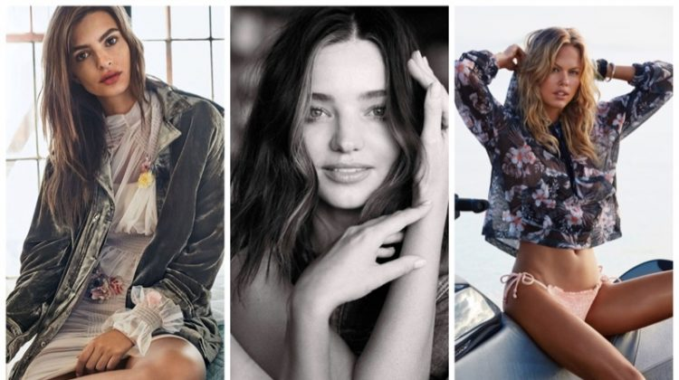 Week in Review | Emily Ratajkowski for Glamour UK, Seafolly Swimwear, Miranda Kerr's New Spread + More