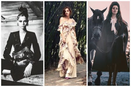 Week in Review   Barbara Palvin's New Cover, Moschino's Fall Ads, Lana Del Rey for V Magazine + More