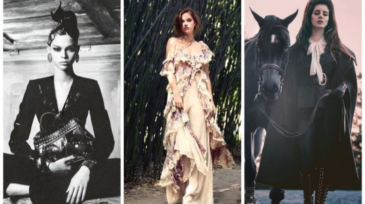 Week in Review | Barbara Palvin's New Cover, Moschino's Fall Ads, Lana Del Rey for V Magazine + More