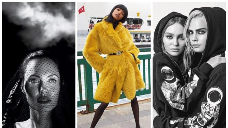 Week in Review | Jourdan Dunn's New Cover, Angelina Jolie for Vanity Fair, Chanel's Fall Ads + More