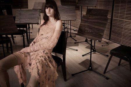 Vanessa Moody stars in Zimmermann's fall-winter 2017 campaign