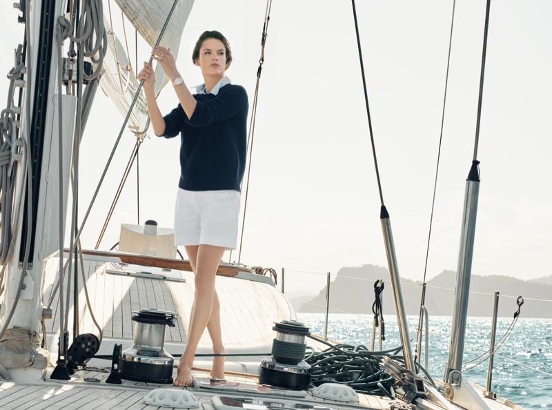 Alessandra Ambrosio stars in OMEGA Aqua Terra campaign