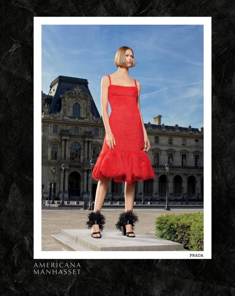 Americana Manhasset spotlights Prada in fall-winter 2017 campaign