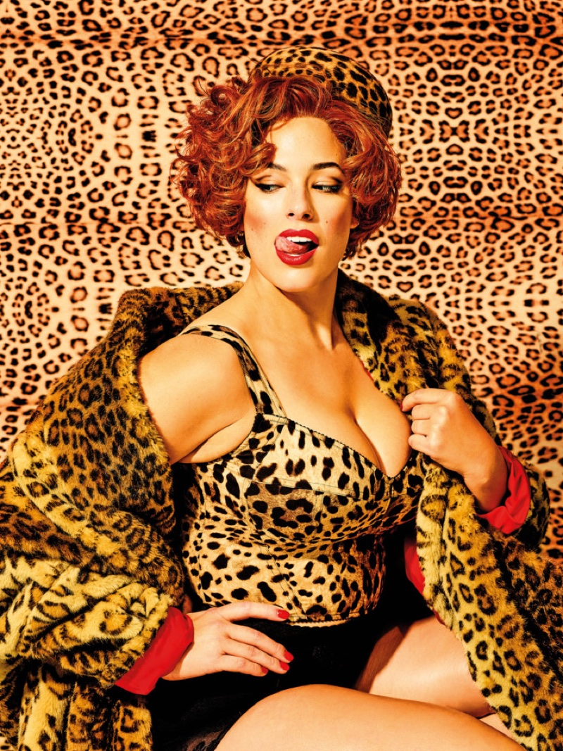 Ashley Graham Poses in Pin-Up Styles for New York Magazine
