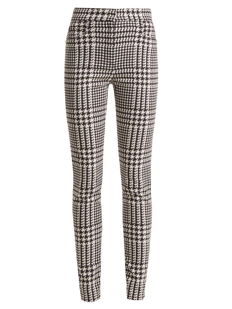 Balmain Houndstooth Check Skinny-Leg Trousers $1,028
