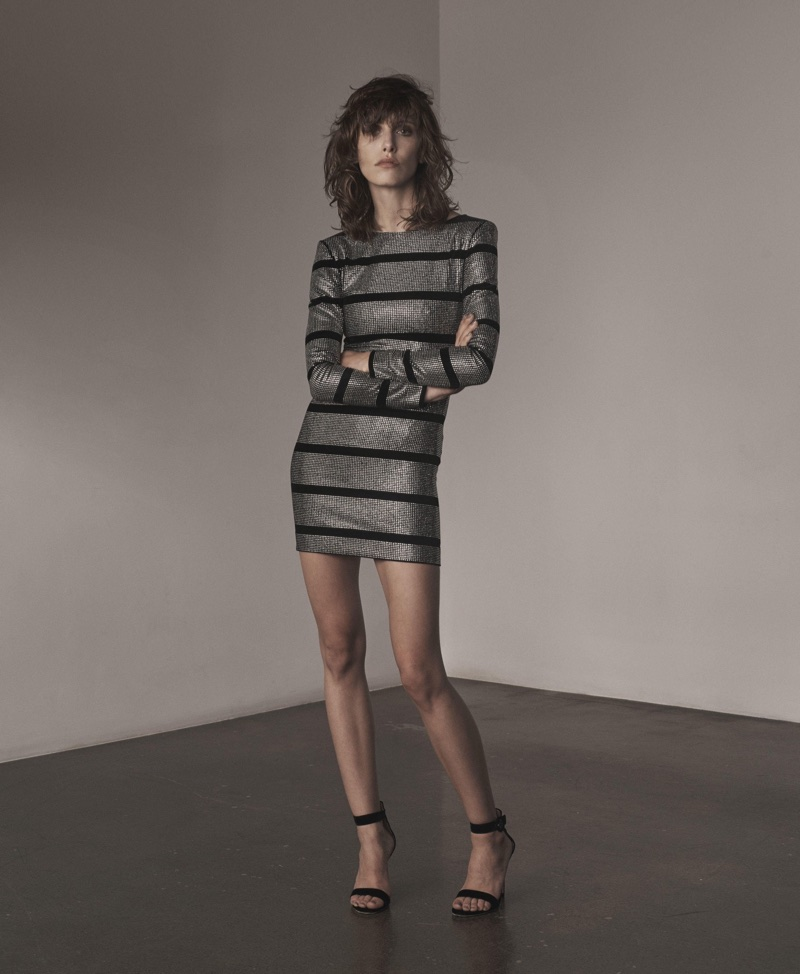 Olivier Rousteing designs the perfect form-fitting minidress for Balmain's pre-fall 2017 collection