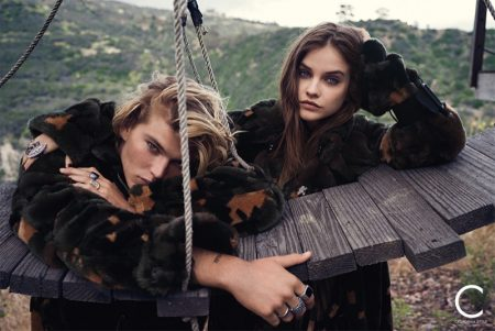 Barbara Palvin Models Fall Fashions in C Magazine