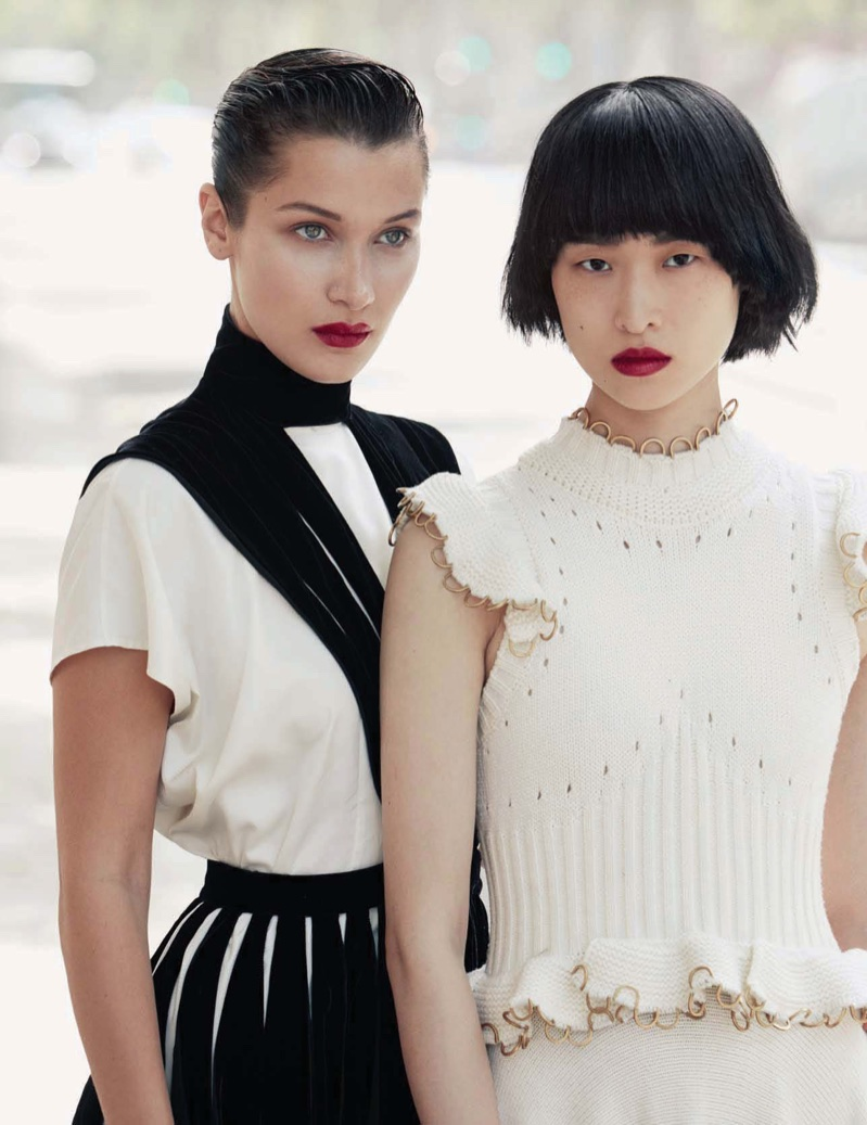 Bella Hadid & Chu Wong Are Two Of a Kind in Vogue China