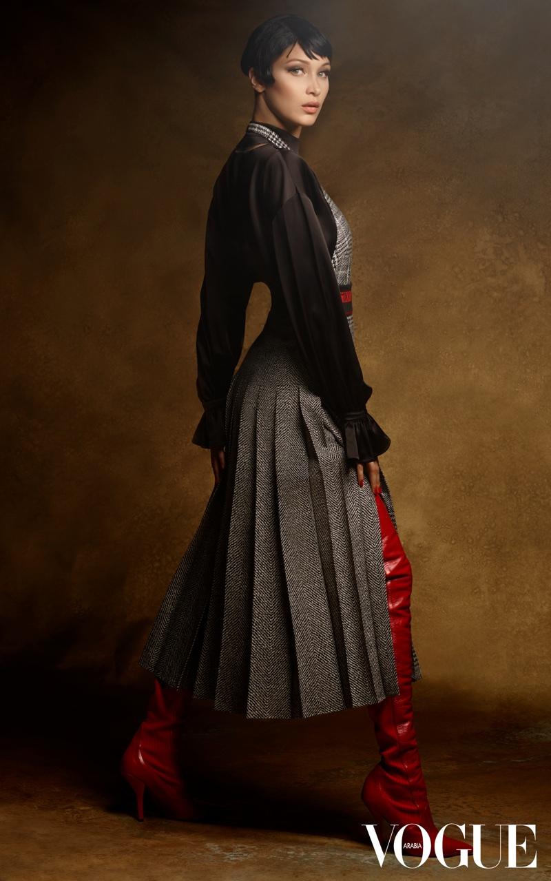 Bella Hadid Vogue Arabia September 2017 Cover Photoshoot