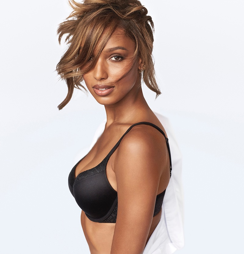 c561716743 ... Perfect Shape Full Coverage Bra Jasmine Tookes fronts Body by Victoria