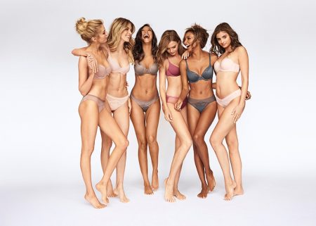 The Angels Strip Down for Victoria's Secret, Body by Victoria Campaign