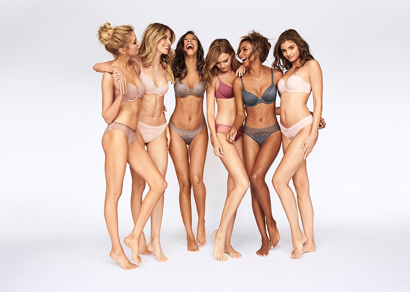 Stella Maxwell, Martha Hunt, Lais Ribeiro, Josephine Skriver, Jasmine Tookes and Taylor Hill star in Body by Victoria, Victoria's Secret 2017 campaign