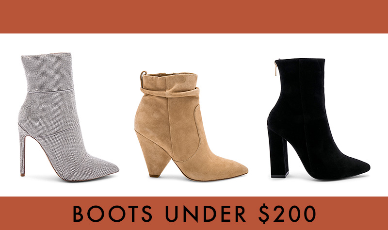 Affordable boots under $200