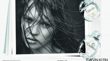 A Young Kate Moss Stars in Calvin Klein 'Obsessed' Fragrance Campaign