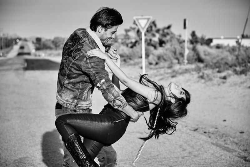 Camila Cabello and Alex Dellisola star in Guess Jeans' fall-winter 2017 campaign