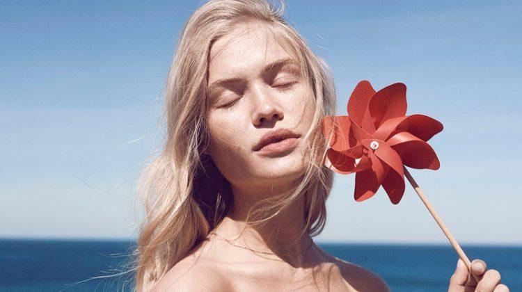 Camilla Christensen Embraces Outdoor Style in ELLE Denmark