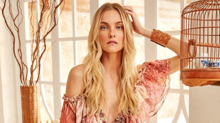 Caroline Trentini stars in Agua de Coco's spring-summer 2018 campaign