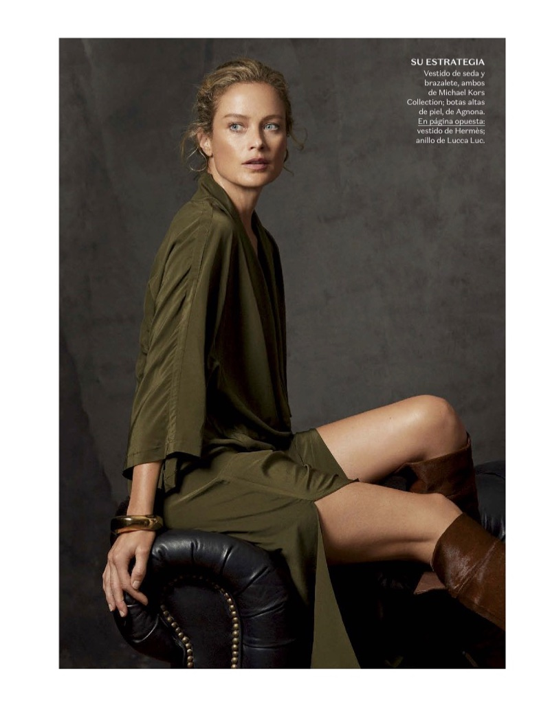 Carolyn Murphy Wears Western Inspired Looks for Vogue Mexico