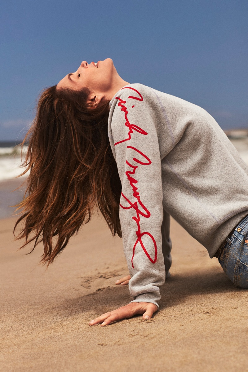 Re/Done announces collaboration with supermodel Cindy Crawford