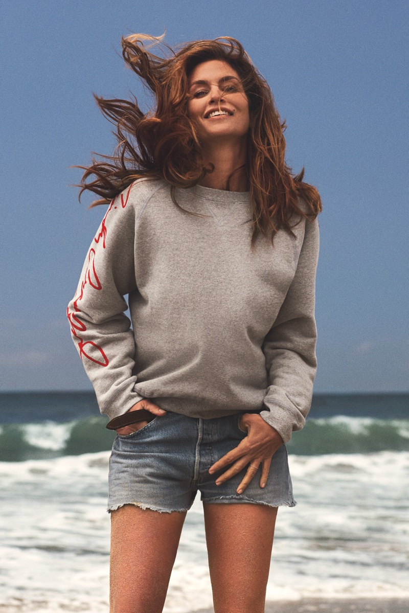 Cindy Crawford for Re/Done denim