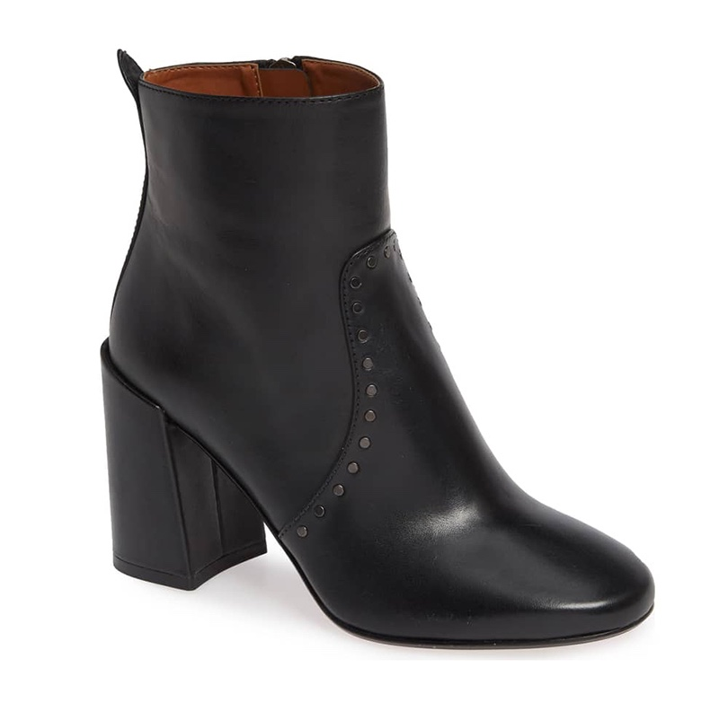 Coach Farrah Studded Bootie in Black $194.95